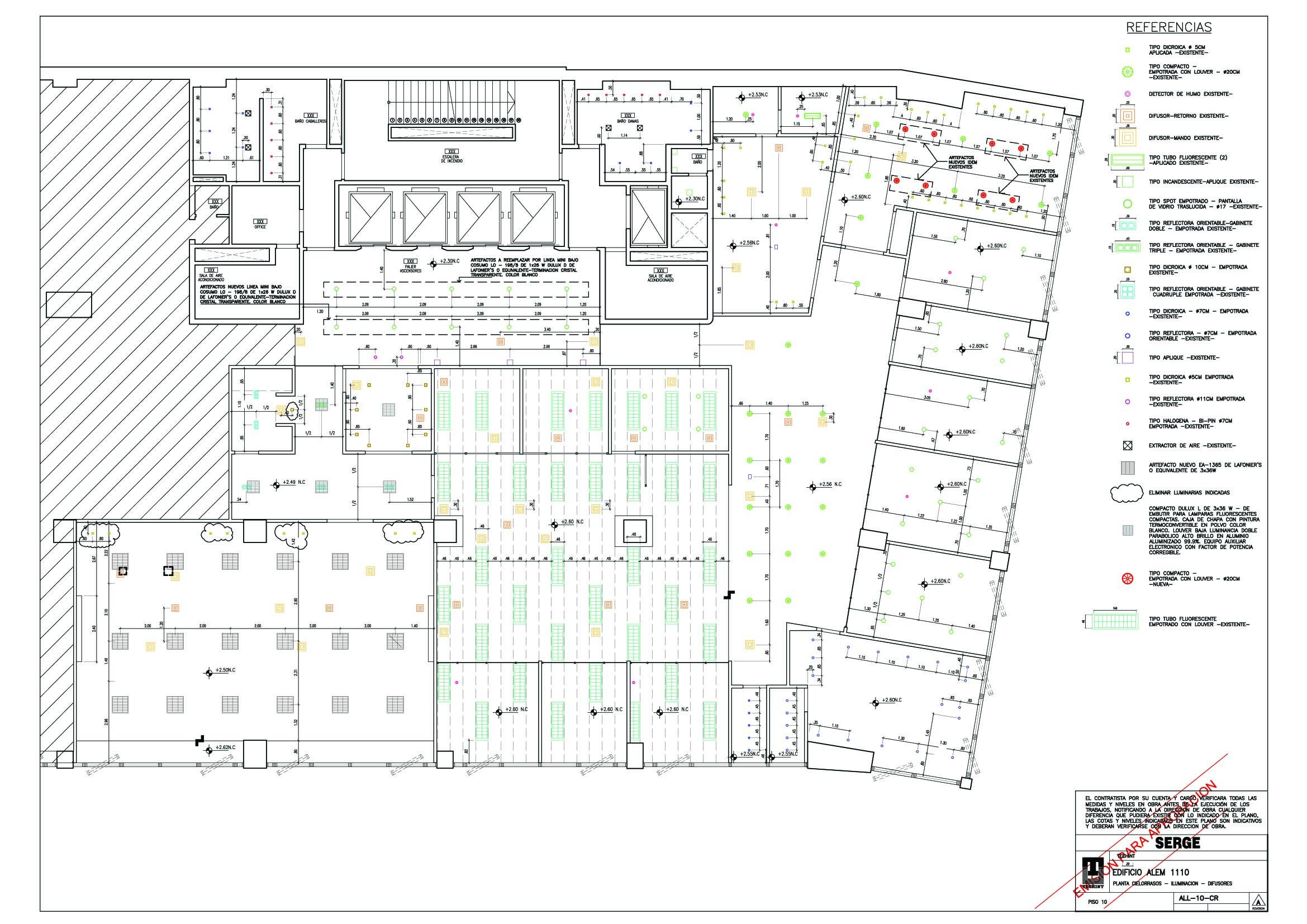 Oficinas for Oficinas planta arquitectonica